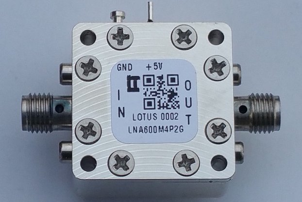 Amplifier-LNA 0.6-4.2GHz Ultra Low Noise Flat Gain