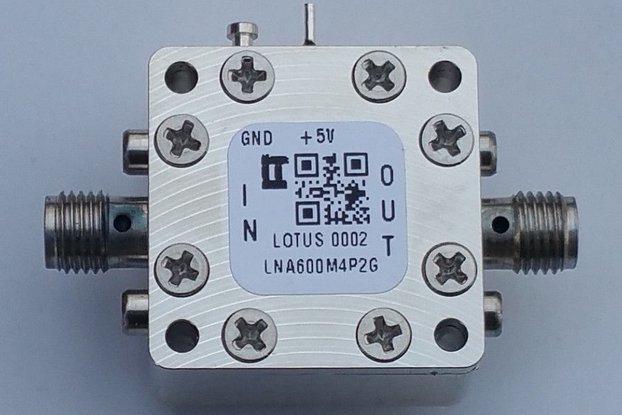 Amplifier-LNA 0.6-4.2GHz Ultra Low Noise Flat Gain