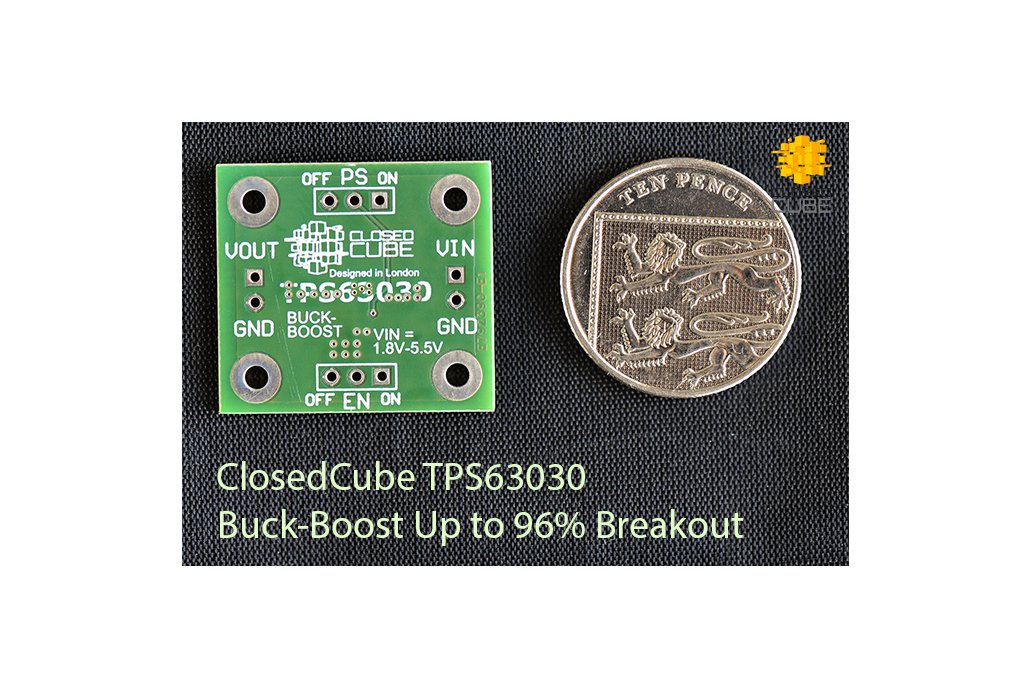 TPS63030 High Efficient  Buck-Boost Up to 96% 3
