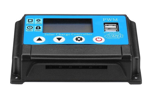 Auto Solar Panel Solar Charge Controller Battery