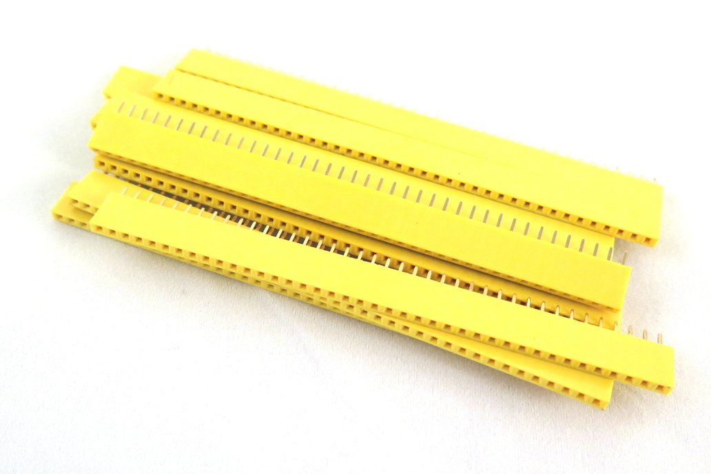 Yellow female 40 pin header (10 pieces) 1