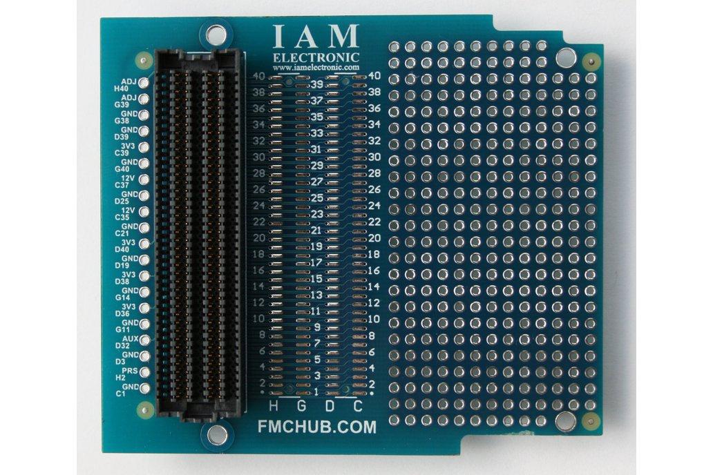 FPGA Mezzanine Card (FMC) Breakout Board 1