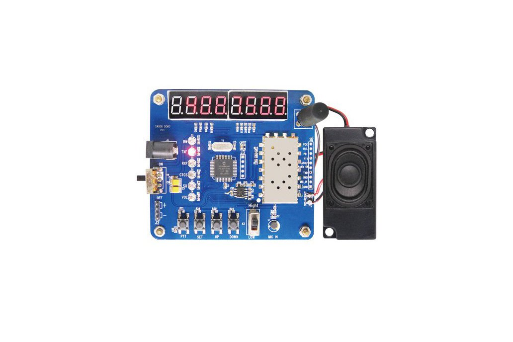 Demo for SA818 Walkie Talkie Module 1