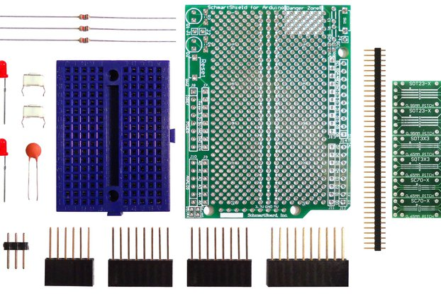 SchmartBoard|ez SOT23 & SC70 (Arduino Uno)