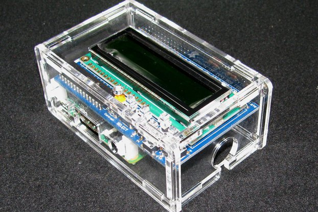 Raspberry Pi A+/B+ Adafruit LCD Case