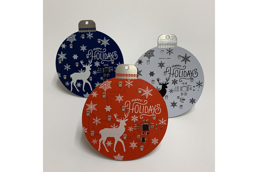 Holiday Ornament PCB - Perfect for the DIYer! 1