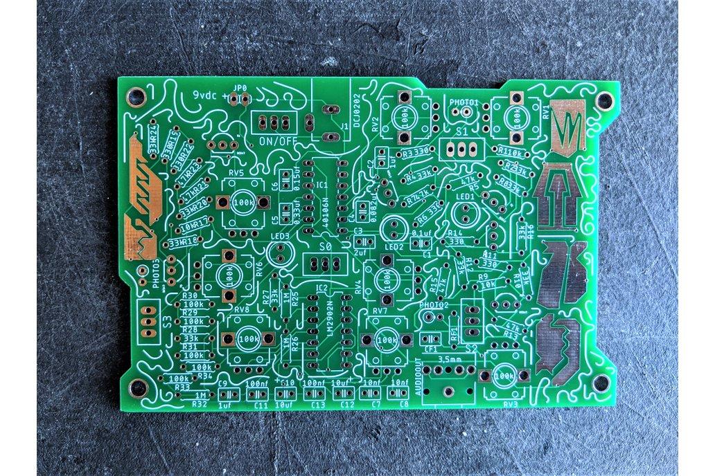 Krill Block: Drone Synth PCB 1