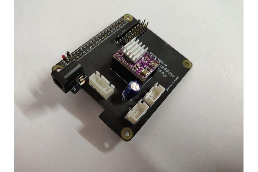 Raspberry pi 3 stepper motor driver HAT 1