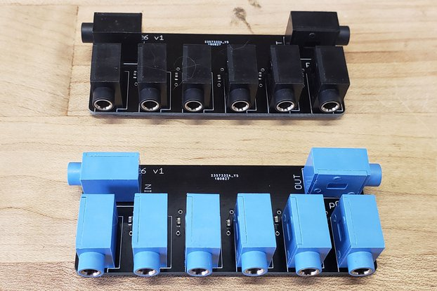 Sync Splitter for Pocket Operators - 5 Way from p0k3t0 on Tindie