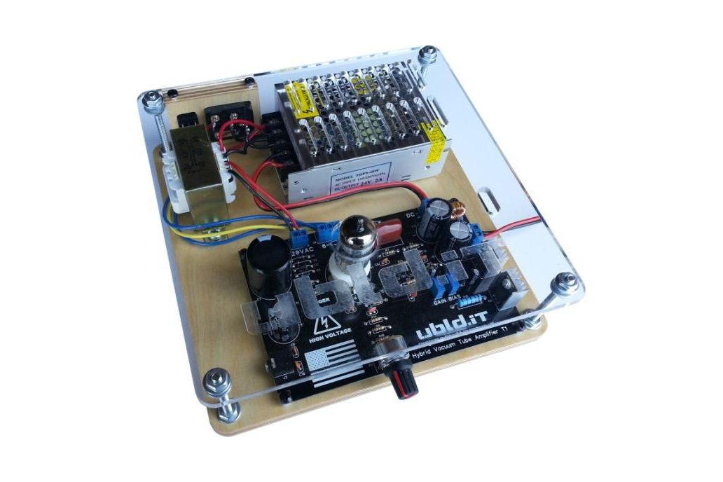 Hybrid Vacuum Tube Audio Amplifier 1