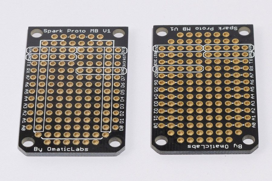 Three Pack of Protoboards for SparkCore