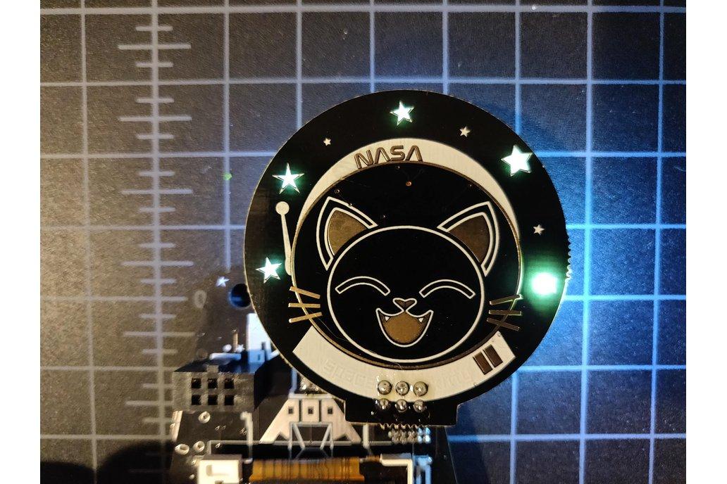 Space Kitty SAO badgelife addon 1