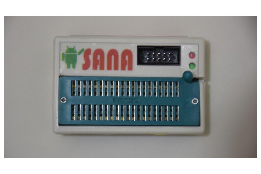 SANA USBASP Programmer and 89S5x , 24Cxxx , 93cxx 9