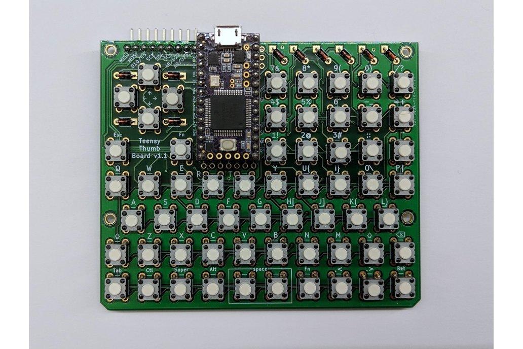 Teensy Thumb Keyboard - PCB only 1