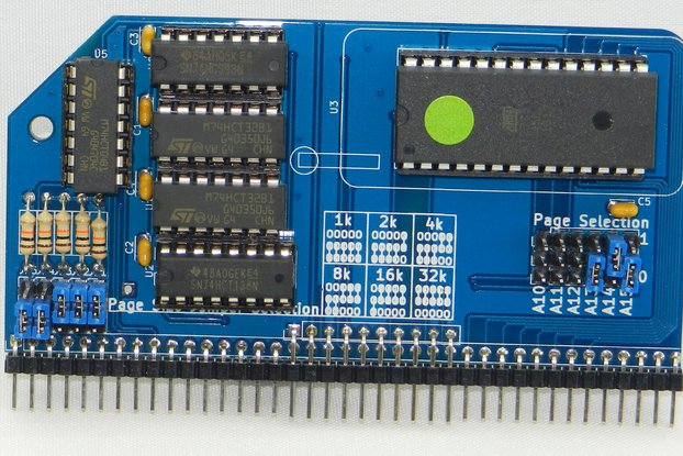 Pageable ROM Module for RC2014 Homebrew Computer