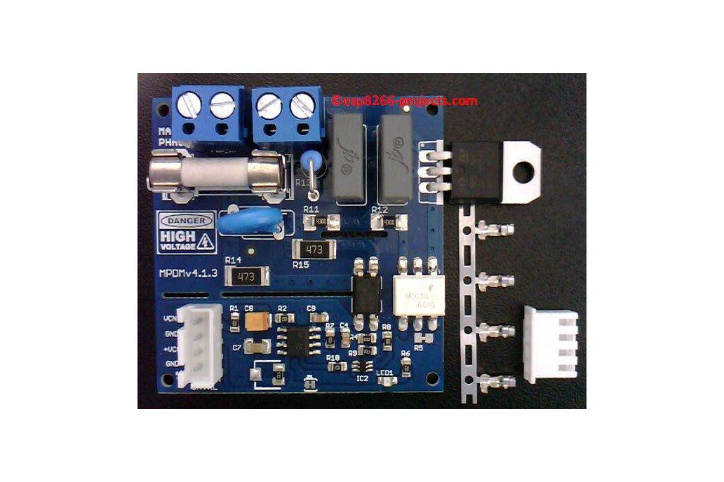 Universal AC MAINS Dimmer - MPDMv4.1 1