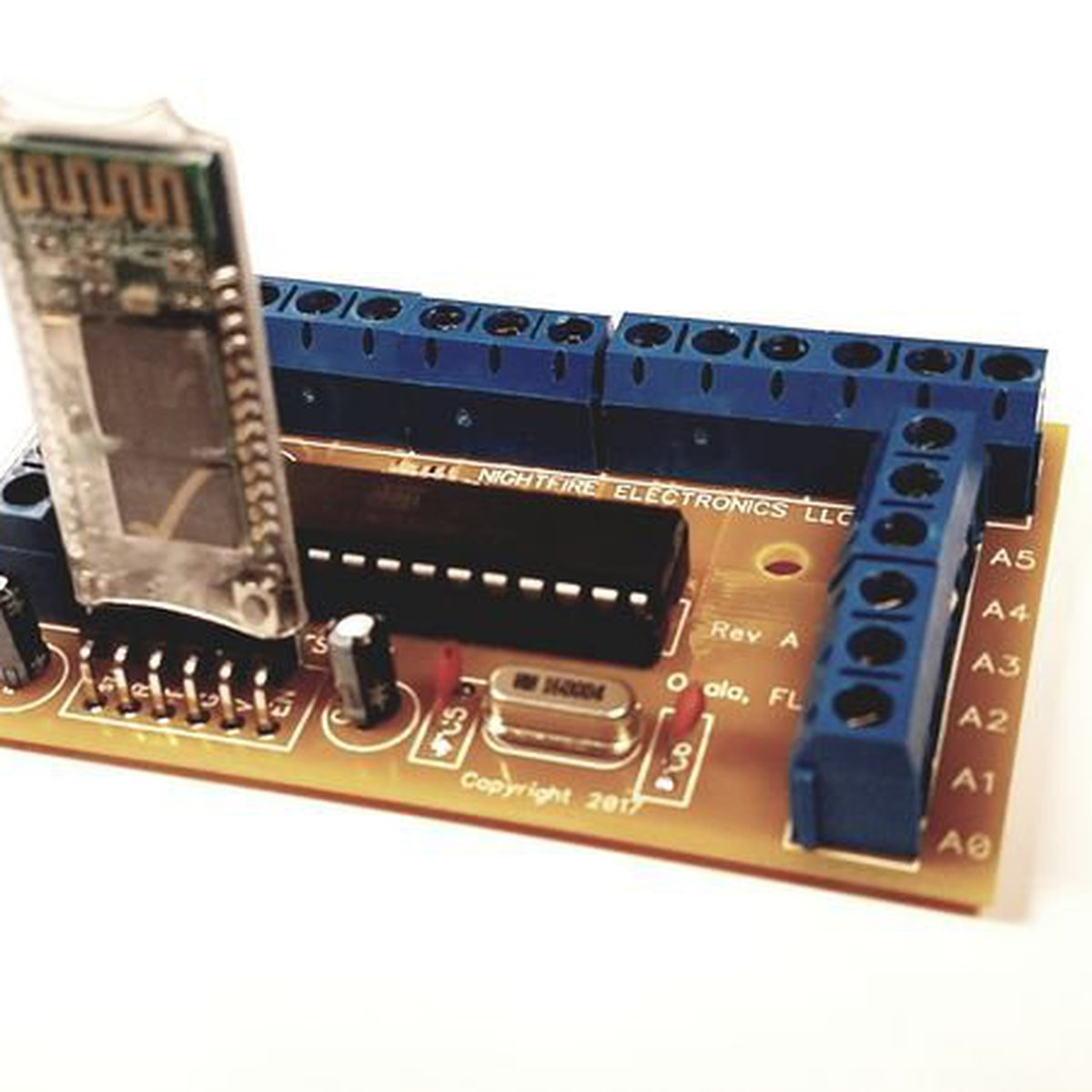 Arduino Bluetooth Breakout Board From Nightfire Electronics Llc On Opamp Monostable And The Circuit Tindie