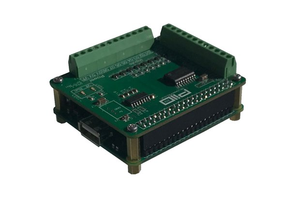 Raspberry Pi PiIO 232 H digital IO board