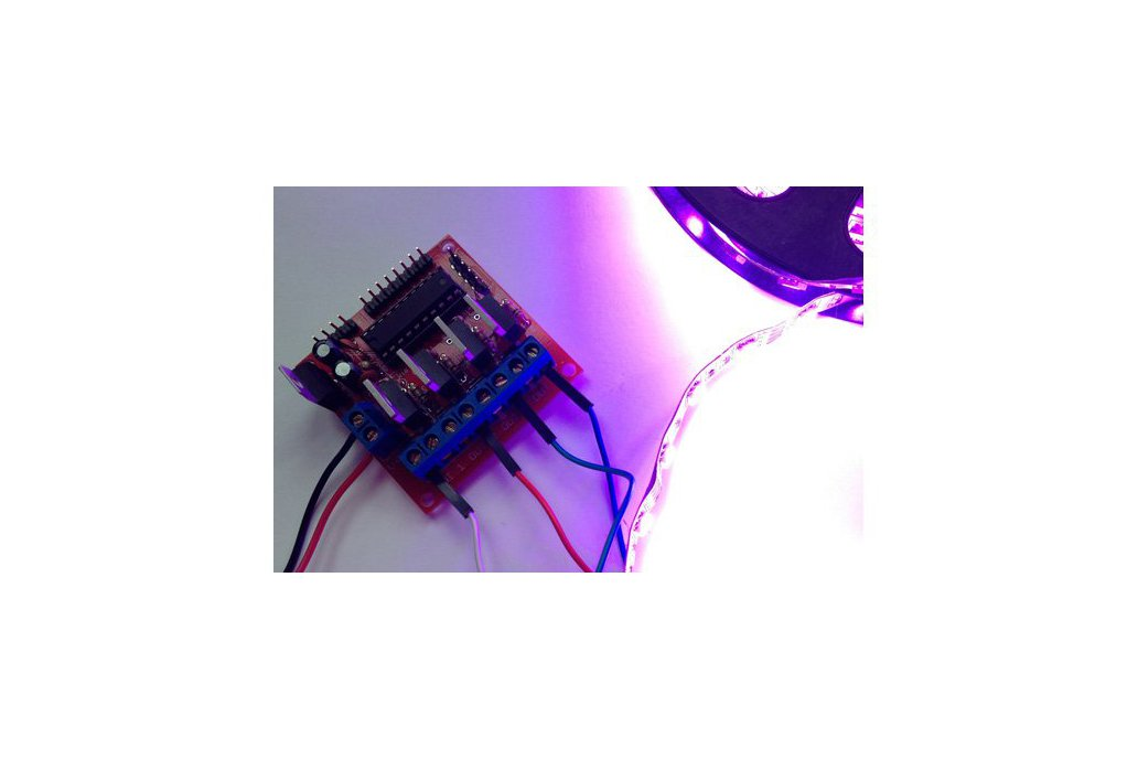 4 channel MOSFET board with MSP430 controller PCB 2