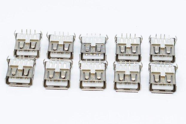 10Pcs USB Type A