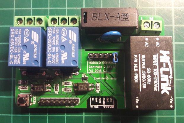 ESP8266 Dual/Triple Relay module