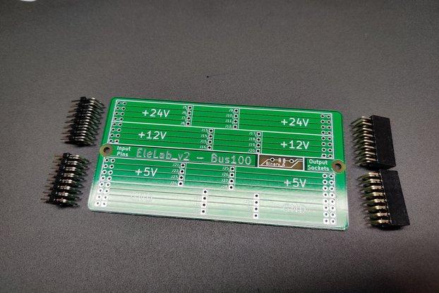 EleLab_v2 - Bus100 PCB