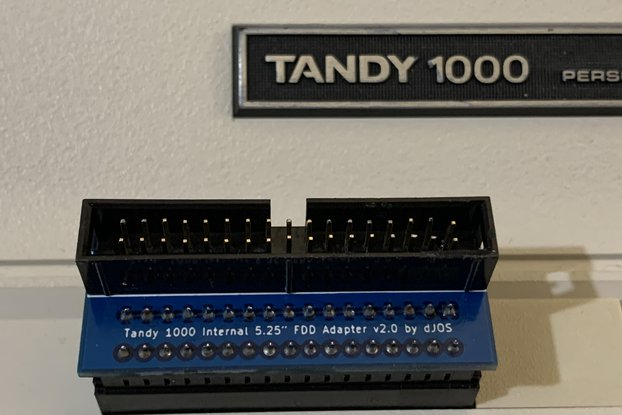"Tandy 1000 Internal 5.25"" FDD Adapter"