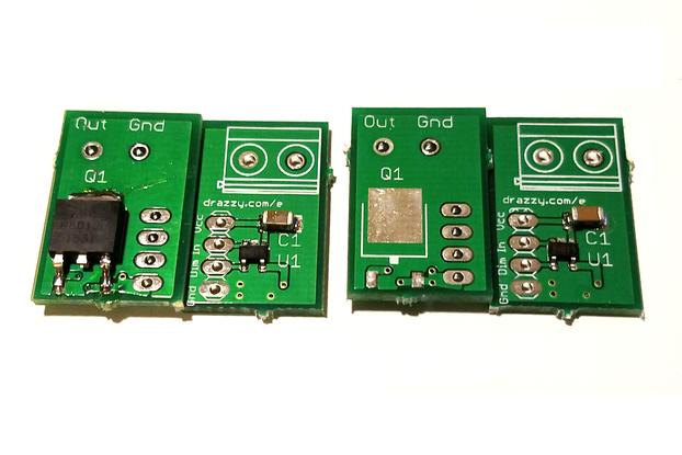 MOSFET switch w/FL3100A gate driver