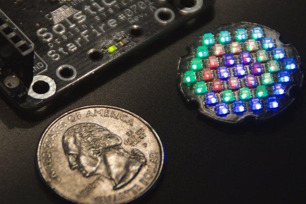 Equinox - Orbit - 24mm dia. LED Disc with 37 LEDs