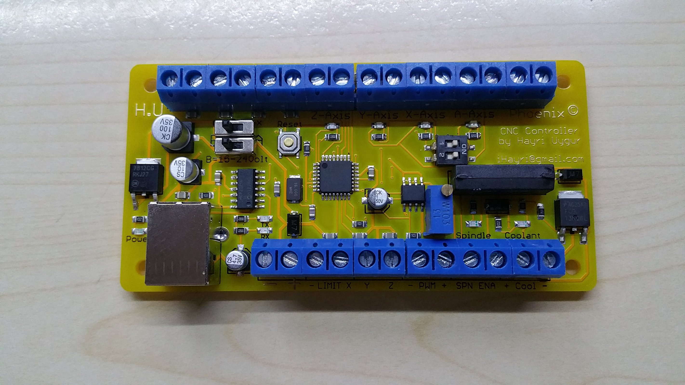 Phoenix Usb Cnc Controller With Pwm Output From Wiring Diagram 2