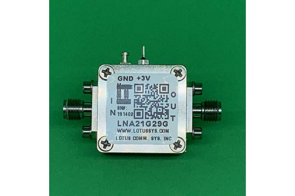 Amplifier LNA 2.5dB NF 21 - 29 GHz 1