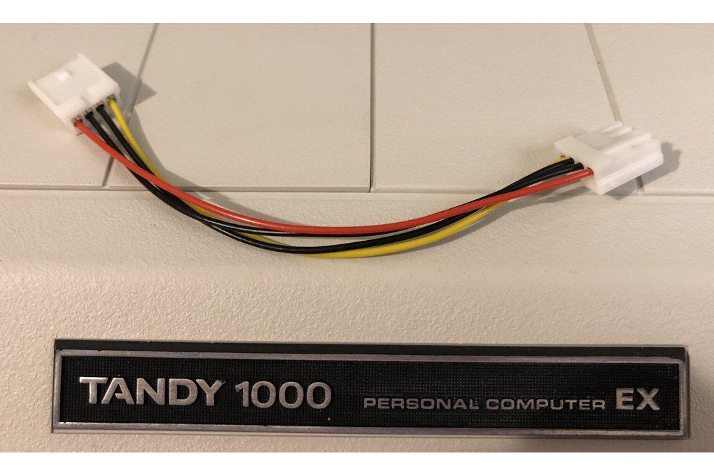 Floppy Power Cables - Tandy 1000, Amiga, Atari 1