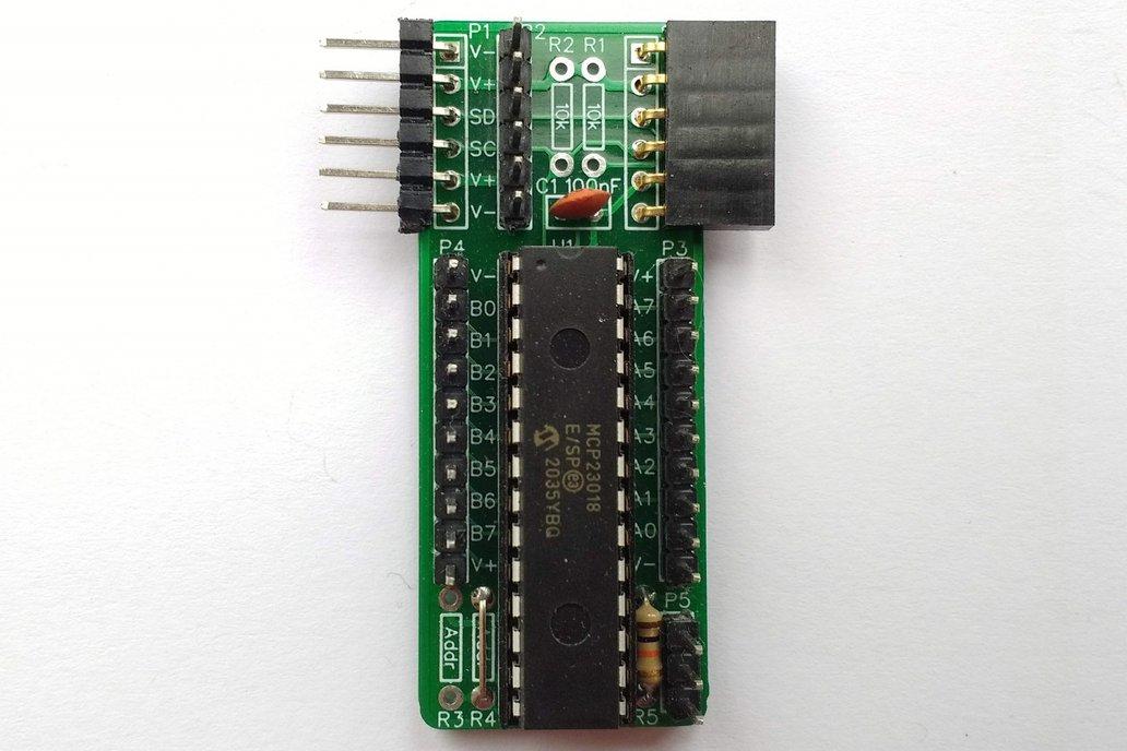 SC403 I2C Digital I/O Module Kit (MCP23018) 1