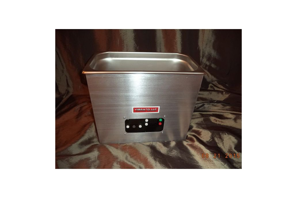 Vibrato 6 Quart 80KHz Ultrasonic Cleaner 1
