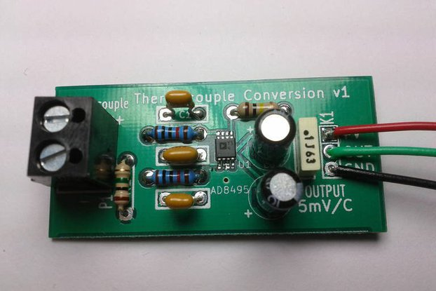 Thermocouple Amplifier - Monitor high temps!