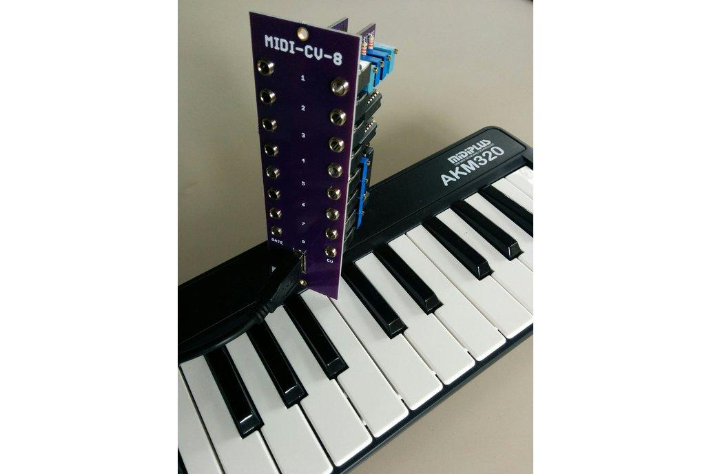8 Voice MIDI-USB Controller (Eurorack PCB Set) 1