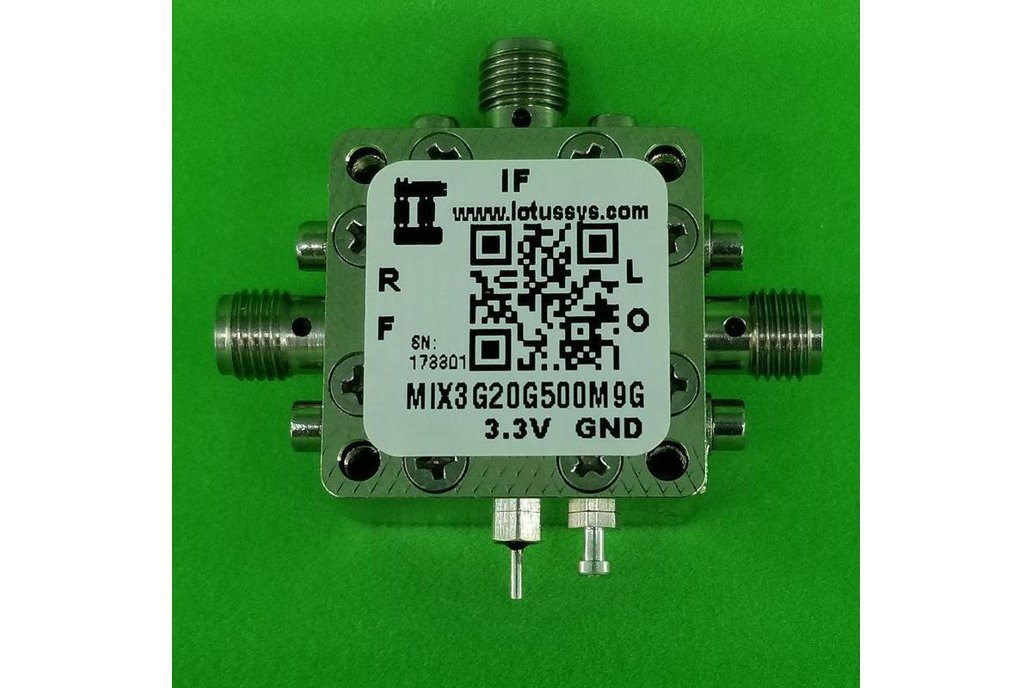 MIXER 3-20GHz RF and 500M - 9G IF (LTC5553) 1
