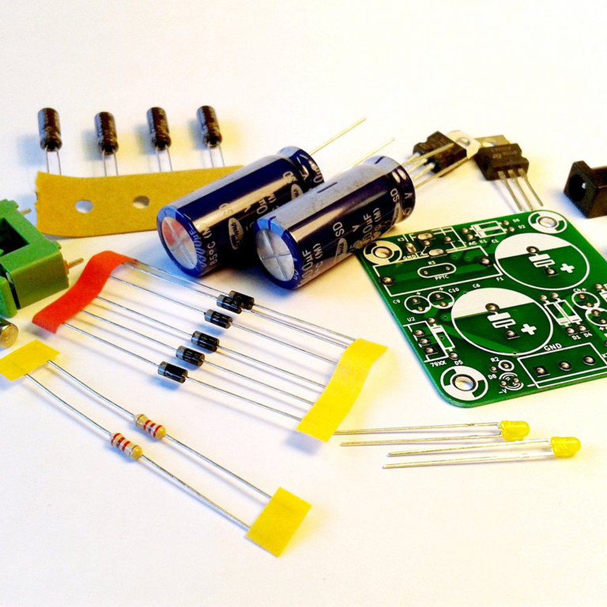 Mini Dual Power Supply From Electronic Things And Stuff On Tindie Free Schematic Diagram Regulated Circuit Using