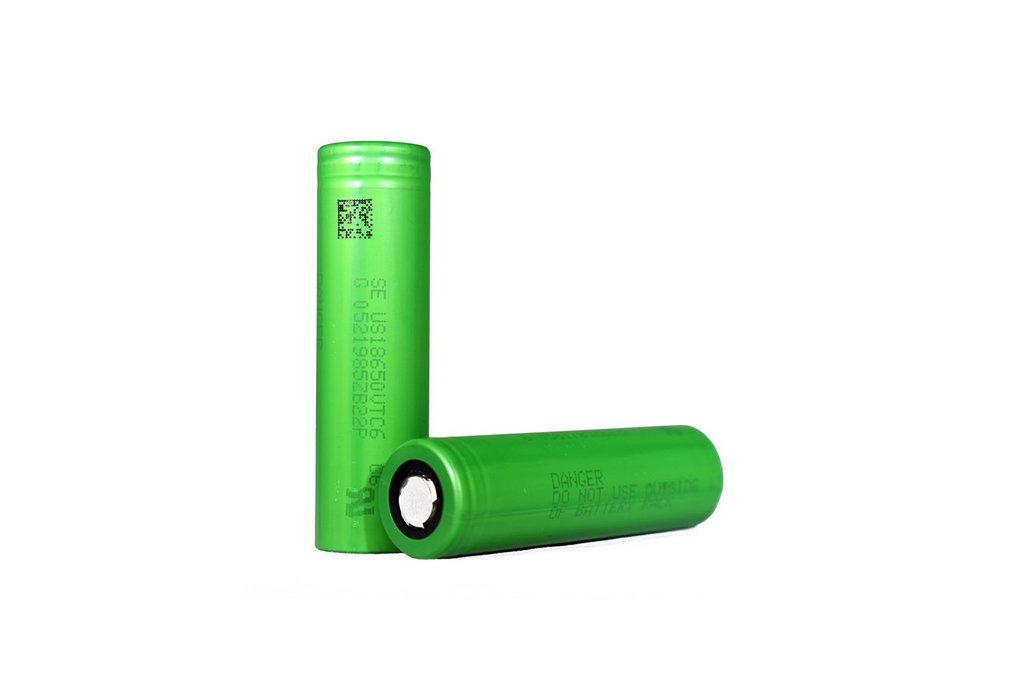 2 pieces Li-Ion Battery  SONY VTC6 3000mAh 30A 1