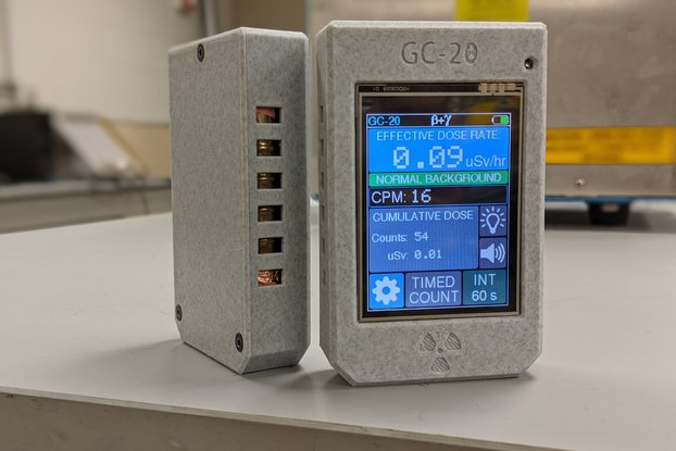 GC-20 Geiger Counter and Monitoring Station