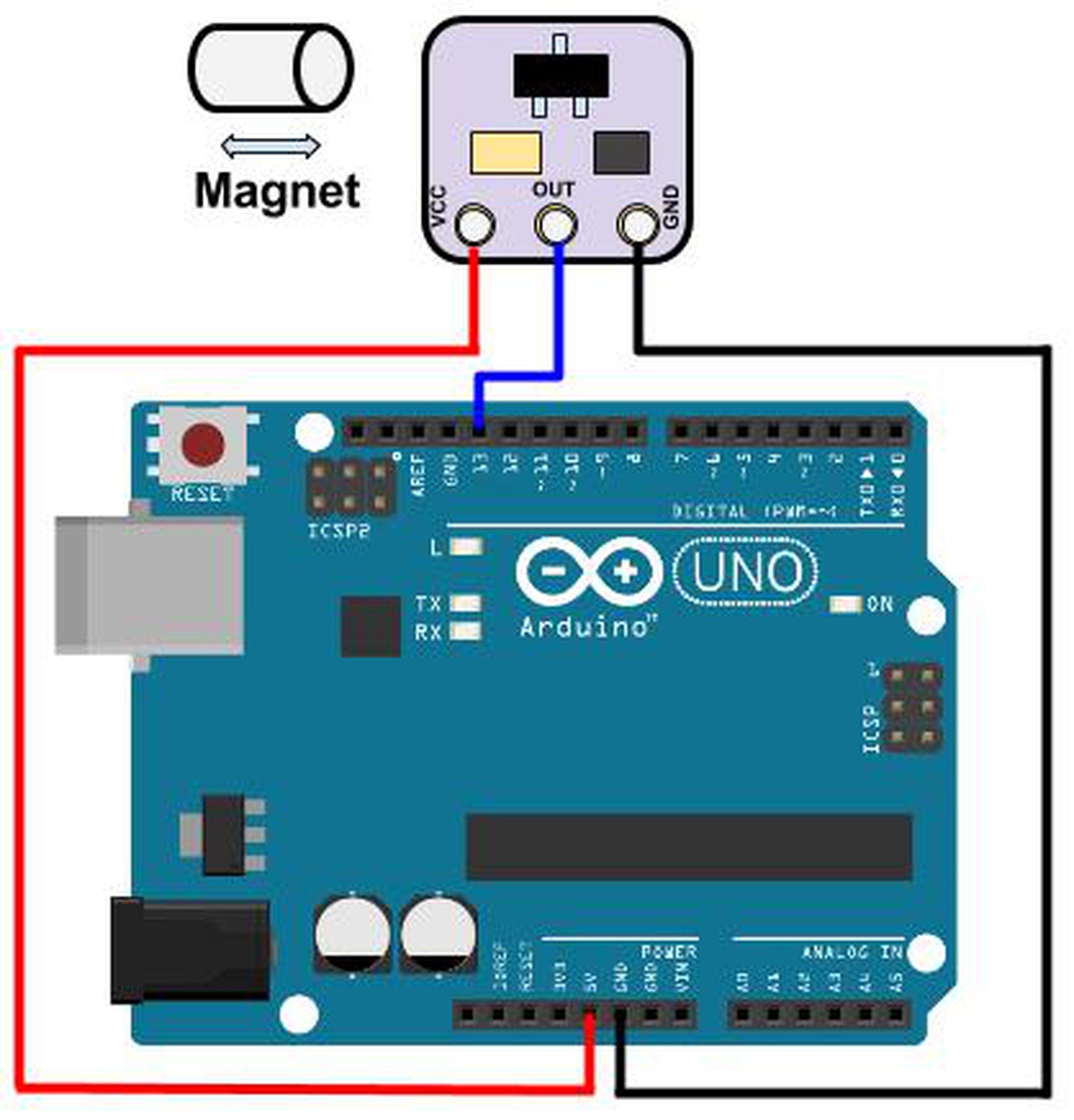 Arduino And Hall Effect Sensor Trailblazer Wiring Diagram Wire ...