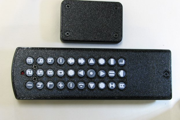 Remote control for MythTV