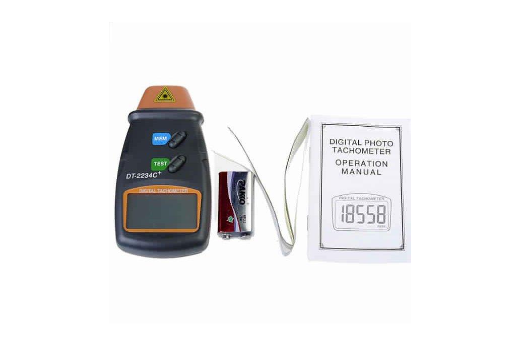 Digital Laser RPM Tachometer 6