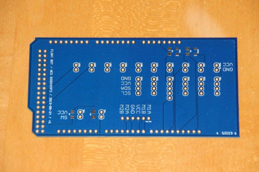 Arduino MEGA Robot expansion shield 1