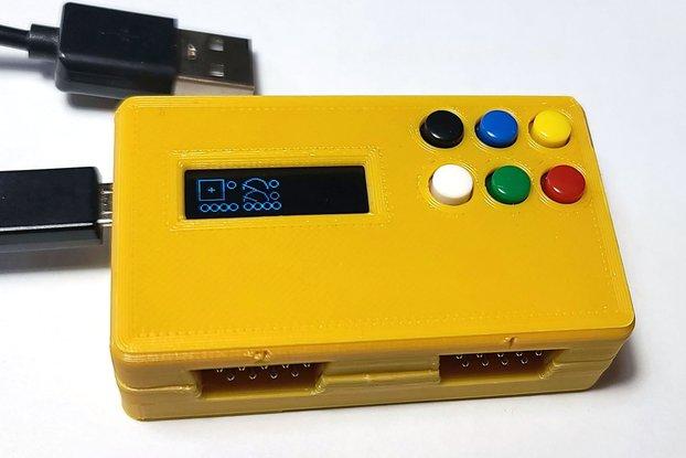 Joystick, Paddle, Driving to USB Adapter Duo Atari