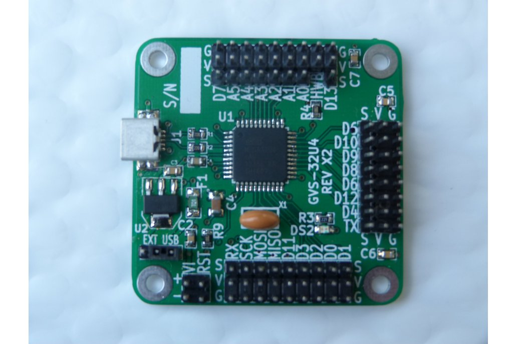 Arduino Leonardo compatible - GVS pins (GVS-32U4) 1