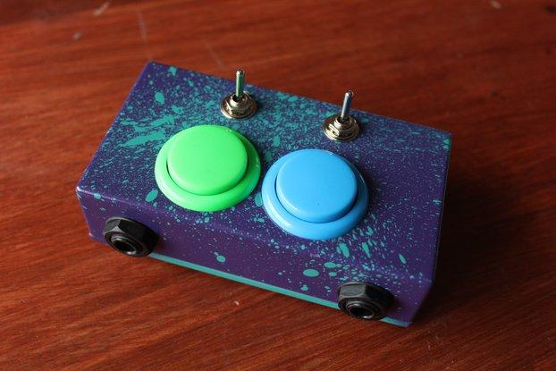 SUPER DOUBLE SMASH BUTTON - Dual Arcade Audio Gate