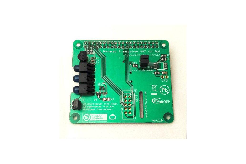 Irdroid-Rpi Infrared Transceiver for Raspberry Pi 1