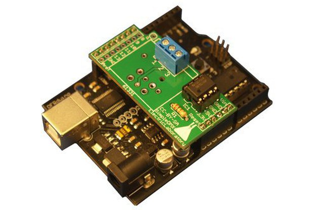 SimpleDMX - Screw Terminal shield for Arduino