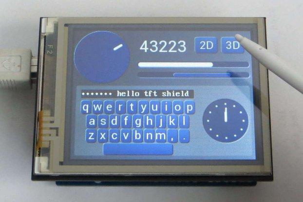 TFT FT810 Arduino Shield